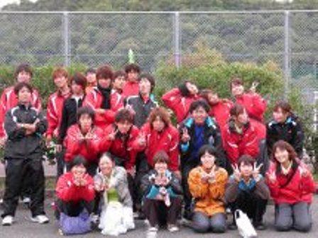 """テニス部写真""""遠征にて"""""""