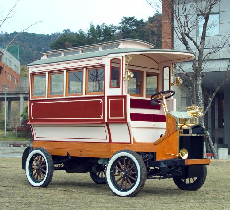 日本発の国産乗合バス