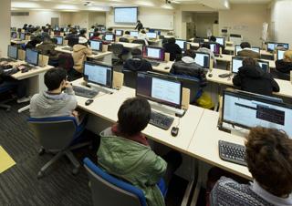 情報処理センター実習室
