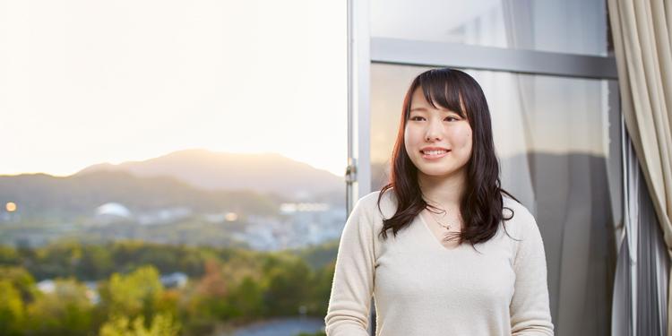 国際学部 国際学科 4年 小川 美由紀さん