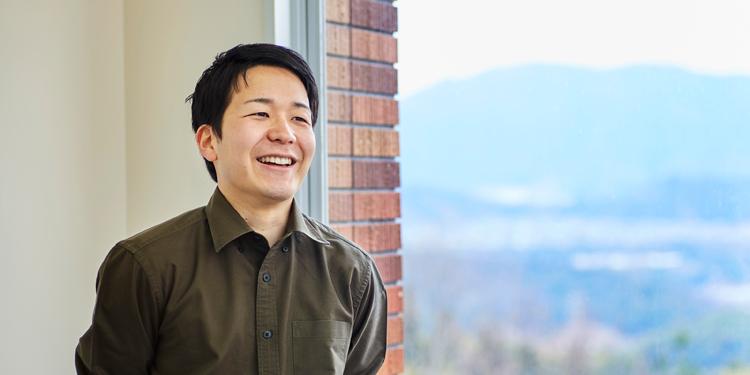 大学院 情報科学研究科(博士前期課程)情報工学専攻 2年 久保田 直弥さん