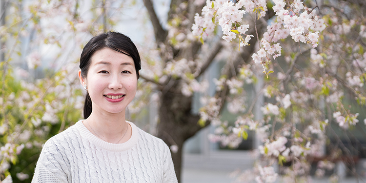 国際学部 国際学科 4年 茶山 菜々子さん