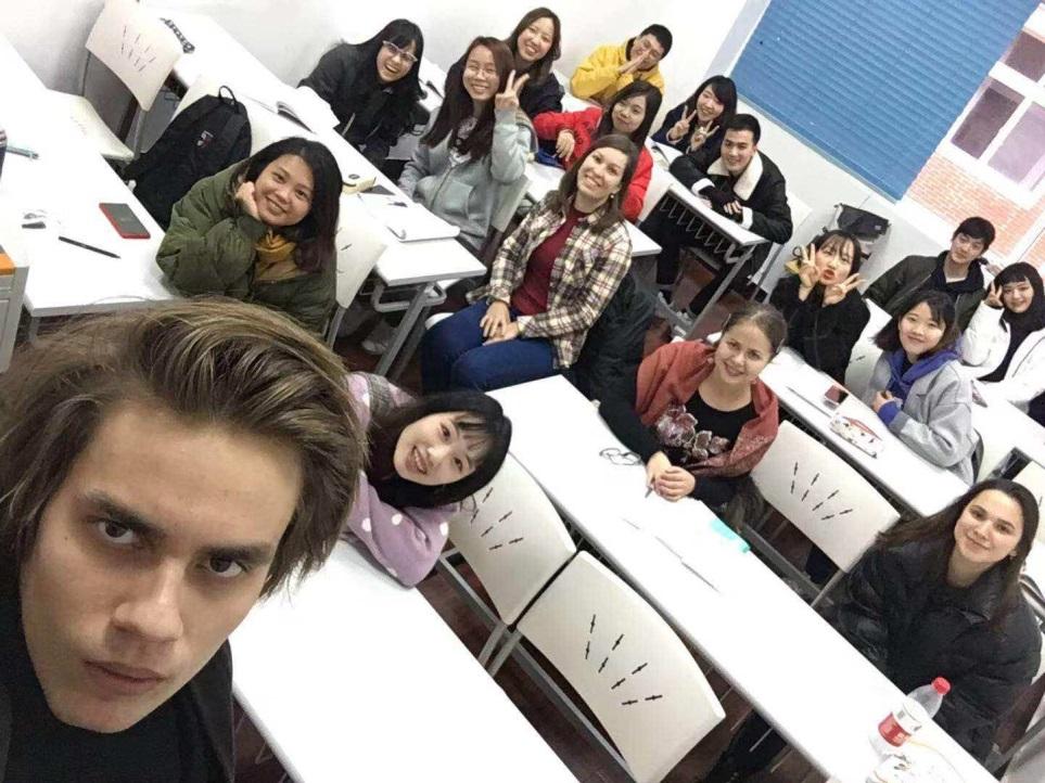 多国籍のクラスメイト